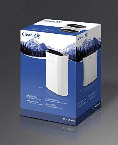 bis 20l pro tag luftentfeuchter und luftreiniger ca 707 f r r ume bis 70m inkl ionisator