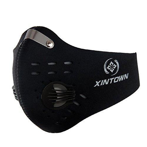 Verschmutzung Maske mit Ventil waschbar Staub ...